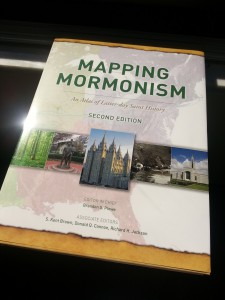 Mapping Mormoinism cover